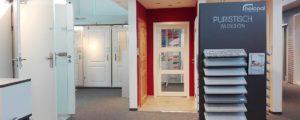 Türen in unserer Bauelementeausstellung
