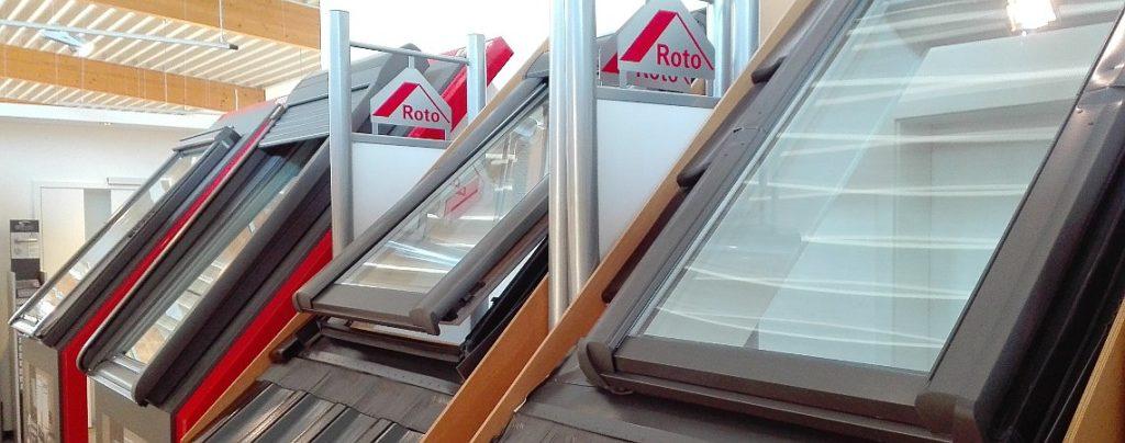 Dachfenster in unserer Bauelementeausstellung