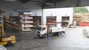bauXpert Vierck Baustoffe Lager