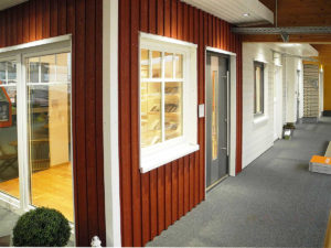 Innentüren in der Bauelemente-Ausstellung