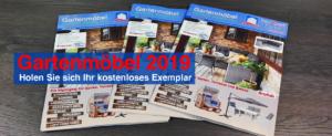Broschüre Gartenmöbel 2019