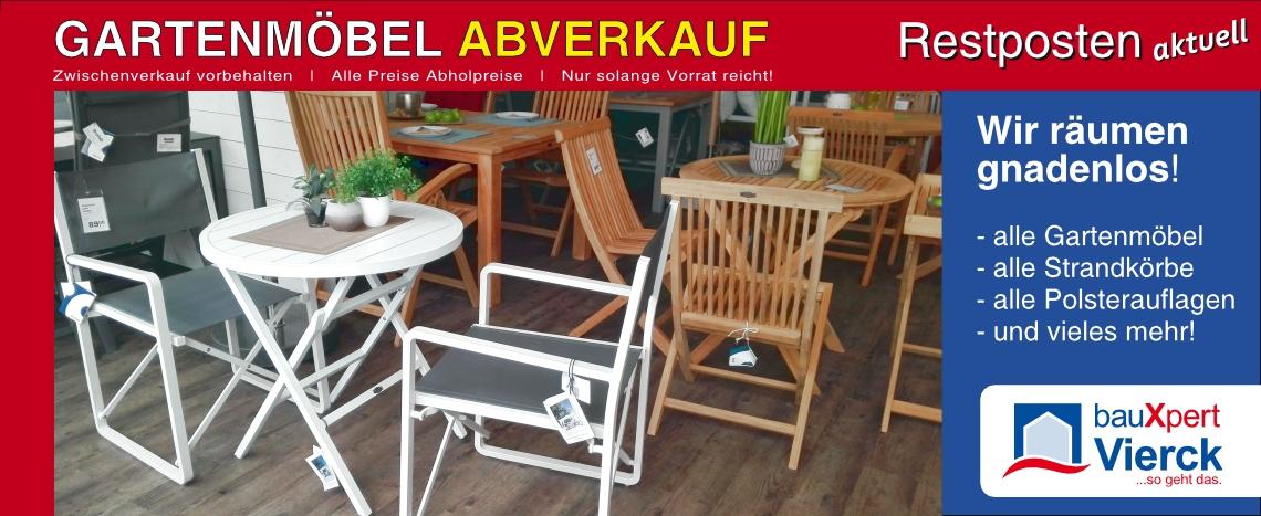 Gartenmoebel Restposten Abverkauf 2018 Bauxpert Vierck