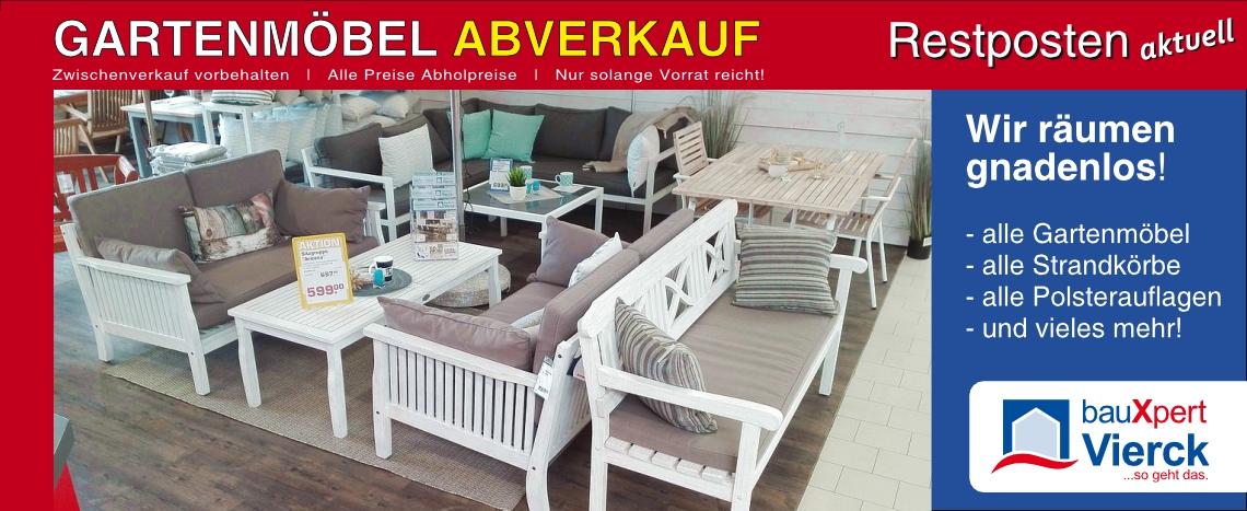 Gartenmöbel Restposten Abverkauf 2018 Bauxpert Vierck
