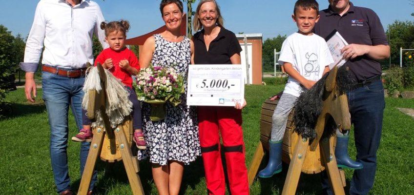 Bewegungskita Kleinsolt gewinnt 5000,- €