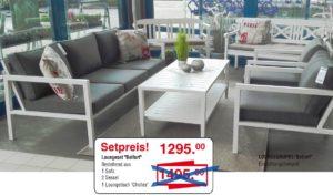 Loungeset Belfort | Sie sparen 200,- €