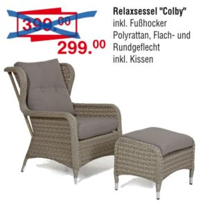 Relaxsessel Colby | Sie sparen 100,- €