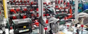 Baumarkt bauXpert Vierck Abteilung Werkzeuge