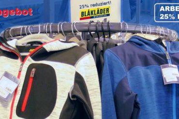 Arbeitskleidung von BLÅKLÄDER 25% reduziert