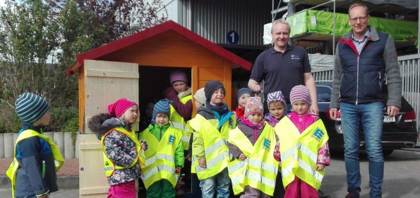 """Ein Spielhaus für den Kindergarten """"Sørup Børnehave"""""""