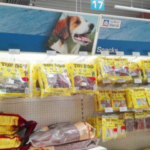 Tiernahrung und Zubehör