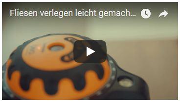 Video Fliesen verlegen leicht gemacht mit GeoSpider