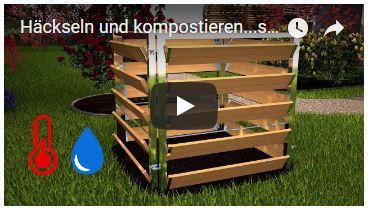 Video Häckseln und kompostieren
