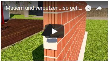 Video Mauern Verputzen