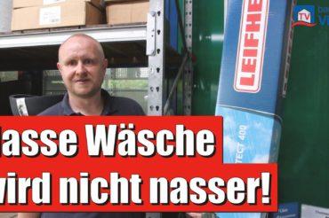 Thomsens Einkaufstipp der Woche   WÄSCHESPINNE MIT DACH – Leifheit Linoprotect 400