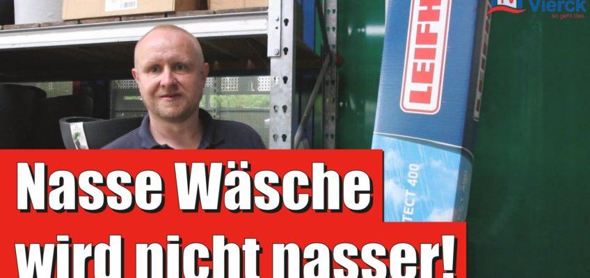 Thomsens Einkaufstipp der Woche | WÄSCHESPINNE MIT DACH – Leifheit Linoprotect 400
