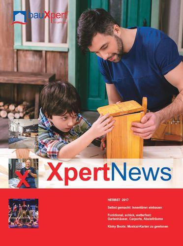 Herbstausgabe der XpertNews von bauXpert